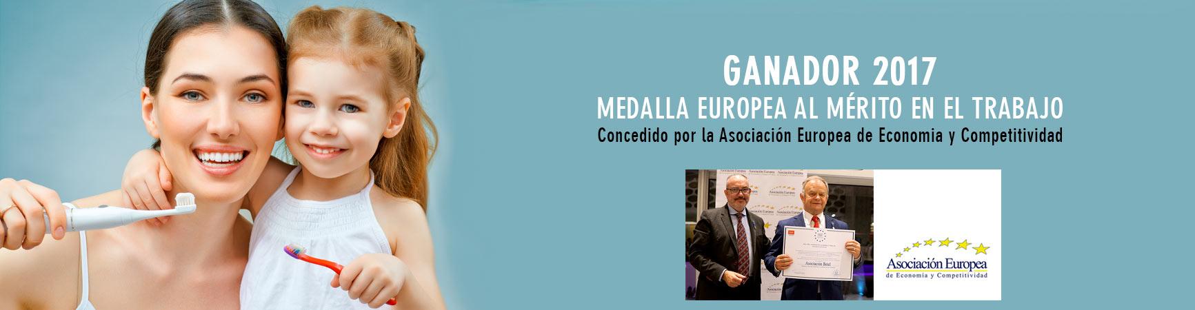 Clinica Betel - Medalla Europea al Mérito en el Trabajo